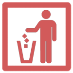 Anti Trash Icon